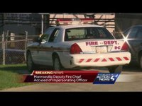Monroeville firefighter accused of impersonating cop, pulling over driver