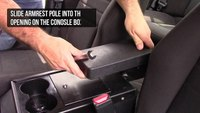 How to install the Gamber-Johnson Standard Heavy Duty Armrest