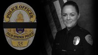 A tribute to fallen Palm Springs Officers Lesley Zerebny and Gil Vega