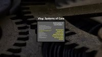 Systems Concepts - Part 4 - Systems of Care