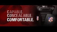 CATI highlights why the CQB body armor is superior to single curve plates