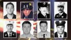 Tribute to the 343 FDNY members killed on 9/11