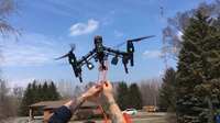 Save lives with a DJI Inspire with Skyzimir Stork