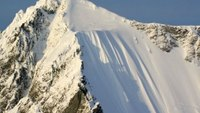 Skier survives 1,600-ft fall down mountain