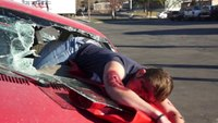 Cops use 'mannequin challenge' to send distracted driving message