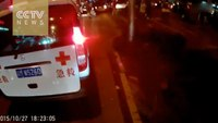 Man leads ambulance during rush hour in viral video