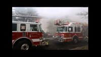 Raw video: Pa. house fire with evacuation order