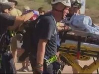 Raw: Hiker Rescued After Fall From Ariz. Mountain