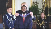 Trump awards 1st responders of congressional baseball attack with Medal of Valor