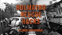 Holmatro Rescue Hacks: Smart door removal