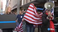 Rally shows support for police before Ferguson decision