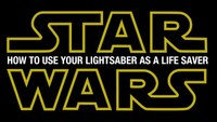 Firefighters use lightsabers in smoke alarm safety message