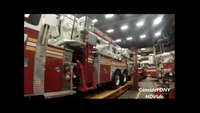 Tour of FDNY Repair Shops + New 2013 Tower Ladder Closeup