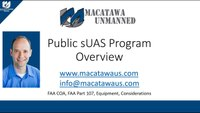 Watch this before you spend $$ on a drone program - UAS Program Training For Public Safety Part1
