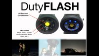 A powerhouse of a flashlight embedded with camera, monitor, color LCD and more!