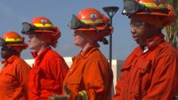 Calif. inmates become new firefighter recruits