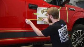 How to Install SVI Graphics' Custom Door Decals