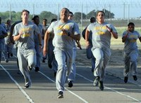 Future Calif. correctional officers go through boot camp