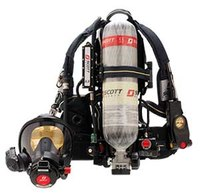 Scott 5.5 Air-Pak SCBA delivers more air, less weight
