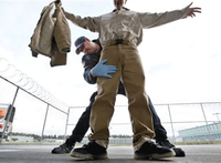 Needle in a haystack: How to find small items during an inmate pat-down search