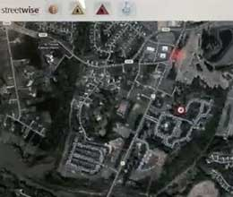 StreetWise offers an Interactive Tactical Maps feature to help guide responders.