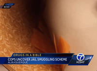Heroin, suboxone found in bibles at NM county jail