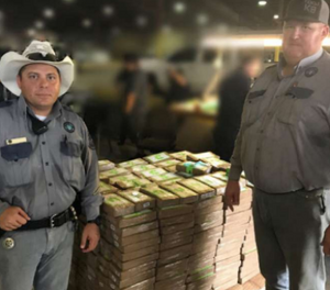 Two sergeants found cocaine in a fruit shipment that led to the discovery of 540 packages of cocaine hidden in the boxes. (Photo/TDCJ)