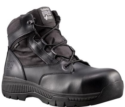 PRO Valor Unisex Composite Toe Waterproof Side-Zip Duty Boot. (Photo/Timberland)