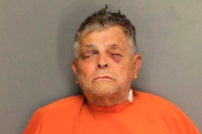 In this undated image released by the Florence County Sheriff's Office is Frederick Hopkins, 74, who was charged with murder and six counts of attempted murder Friday, Oct. 5, 2018, in Florence. S.C. Authorities say the Vietnam veteran accused of shooting seven law enforcement officers in South Carolina on Wednesday, ambushed investigators coming to question his adult son about a sexual assault. (Florence County Sheriff's Office via AP)