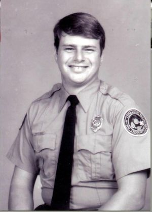 Firefighter-paramedic Mark Benge was killed Feb. 24, 1989 in the line of duty. (Photo/Orange County Fire Rescue)