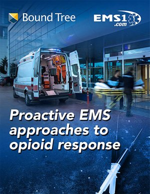 eBook cover: Proactive EMS approaches to opioid response