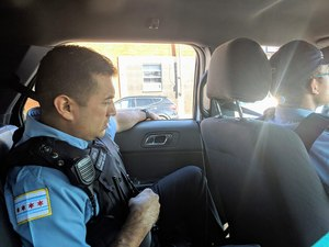 Carlos Vera responded to an opioid overdose during his second day on the job. (image/GovX)