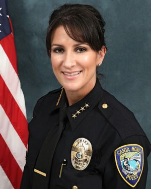 Cynthia Renaud, Santa Monica Chief of Police, and 5.11 Quiet Warrior.
