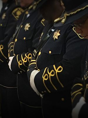 There is a time and a place for symbols and ceremony, tradition and ritual – and Honor Guard members are the chief stewards of these. (Photo/Linda Robson)