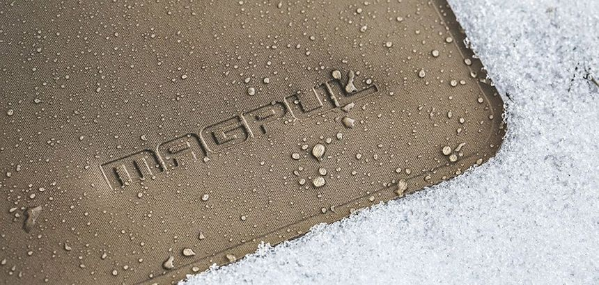 Magpul's pouches are water-resistant to keep items dry in most wet environments. (Photo/Magpul)