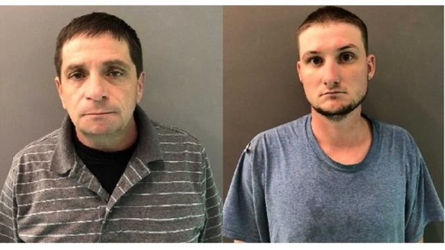 Little River Academy Volunteer Fire Department Chief David Borders and his son, William, who used to work as a firefighter for the department, were accused of stealing thousands of dollars from the department through cash advances. (Photo/Bell County Sheriff's Department)