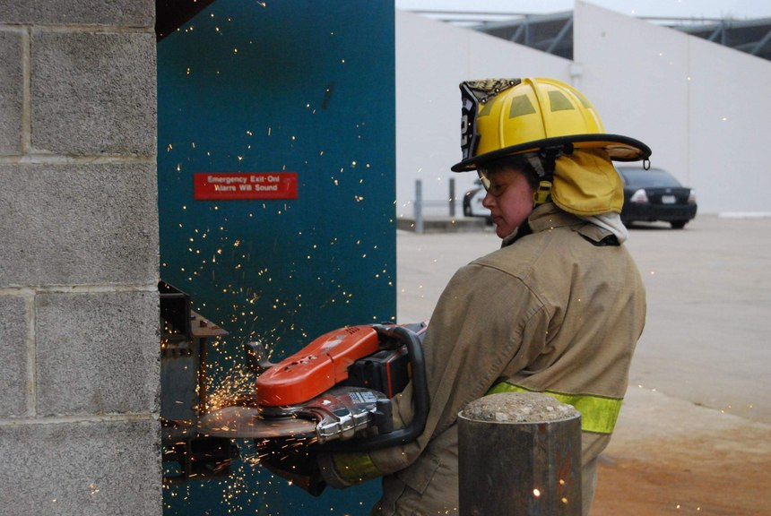 The North Central Texas College (NCTC) Fire Academy program lasted four months and included classroom training as well as live fire, hazmat and other forms of hands-on training.