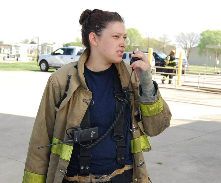 DeLeon hopes to be hired by either a career or volunteer fire department where she can ultimately attend paramedic school.