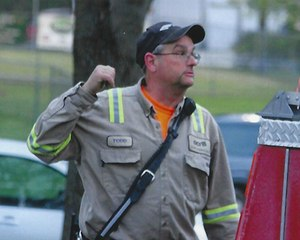Denmark Fire & Rescue Chief Todd Ross