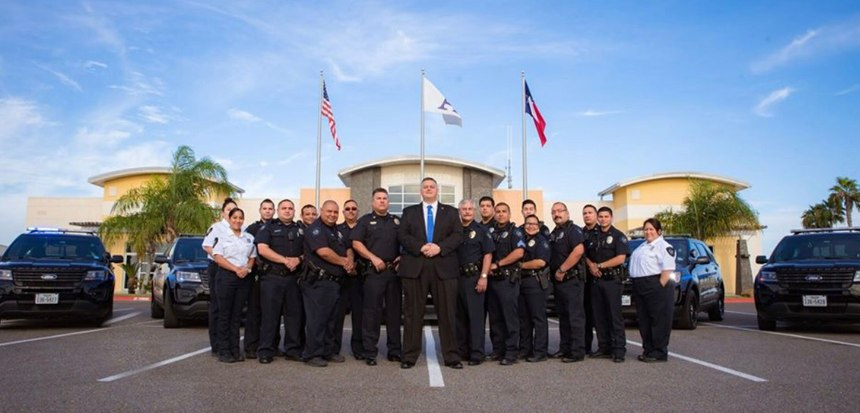 The Alton Police Department is comprised of 21 sworn officers and six civilian staff. (Photo/Chief Flores)