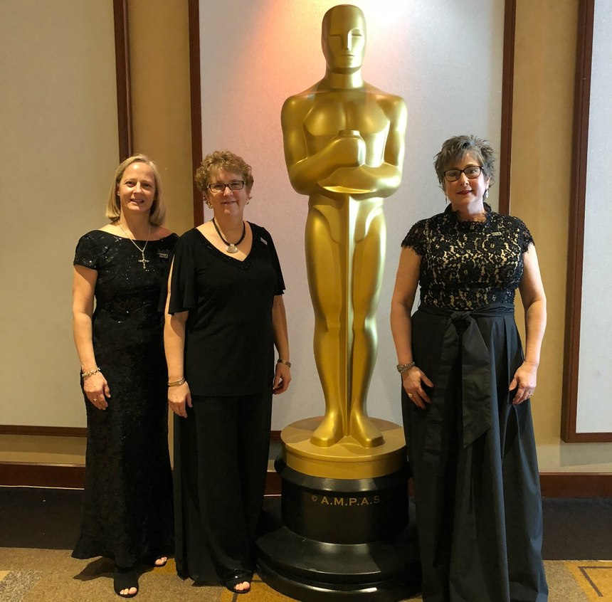 "Jan Rader (left) with her co-stars in Netflix's Oscar-nominated documentary, ""Heroin(e)."" (Photo courtesy of Jan Rader)"