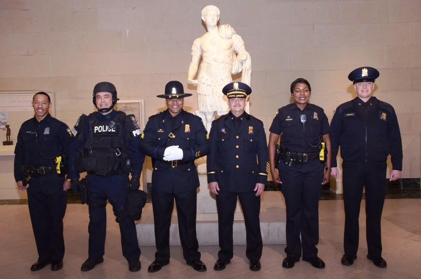 Toledo, OH, Police Department, winners of the 2019 Best Dressed Public Safety Award ®for Medium Size Department
