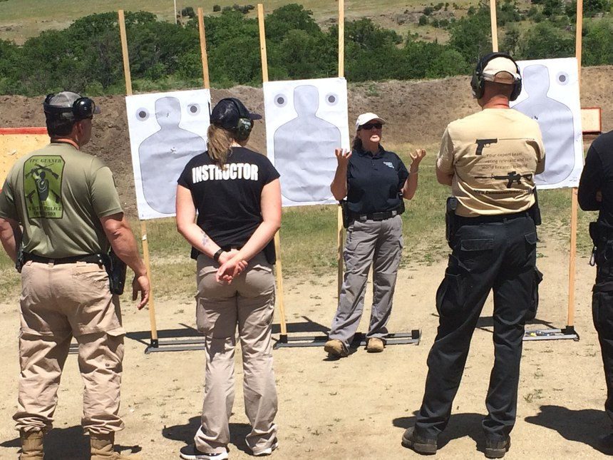Instructors should provide a detailed explanation and description of each drill so officers understand the performance objectives and standards for that particular drill.(Photo/Chrystal Fletcher)