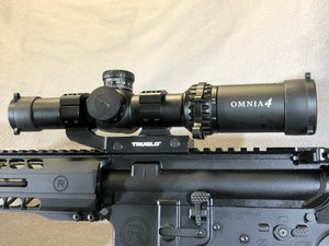 The Truglo Omnia is made in China. It is an outstanding, inexpensive optic that comes with its own rail mount and caps. (Photo/Sean Curtis)