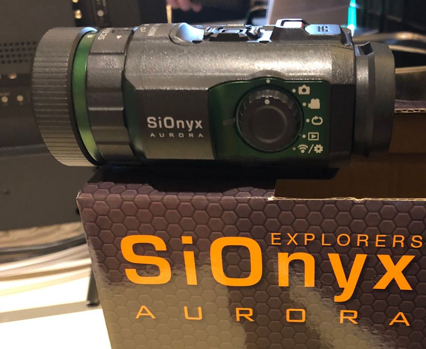See in color at night with the new SiOnyx Aurora camera. (Photo/Ron LaPedis)