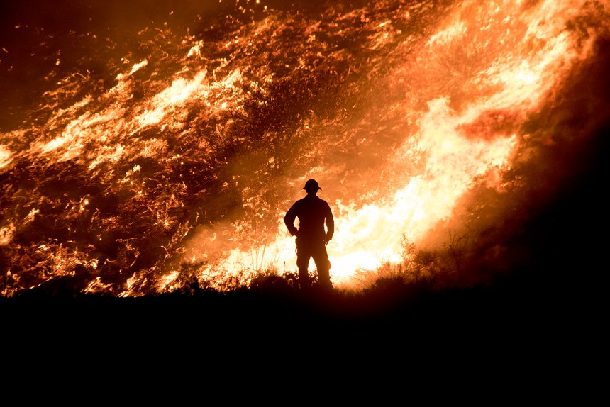 The increasingly common large firesare stark reminders that our all-hazards response firefighters, paramedics, EMTs and emergency management professionals need to continually focus on disaster response and preparedness of all kinds. (Photo/Keith Cullom/fire-image.com)