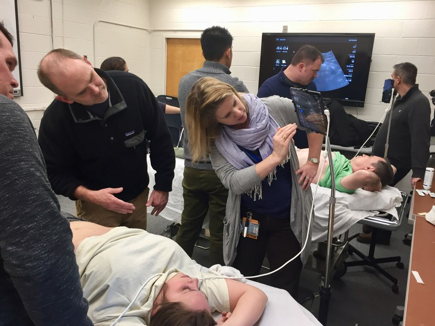 Implementing prehospital POC ultrasound