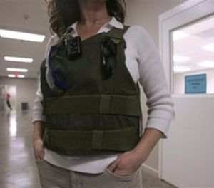 Today's stab-resistant vests are as soft and manageable as the newest bullet-resistant vests. (AP photo)