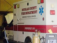 Glue, zip-ties used on old ambulances