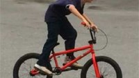 Boy's stolen bike replaced by firefighters' union